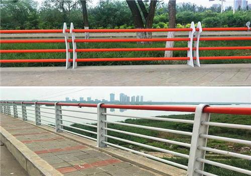 青海海西桥梁防撞复合管人行道栏杆长期