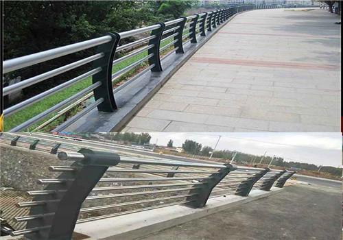 西藏不锈钢复合管道路栏杆厂家