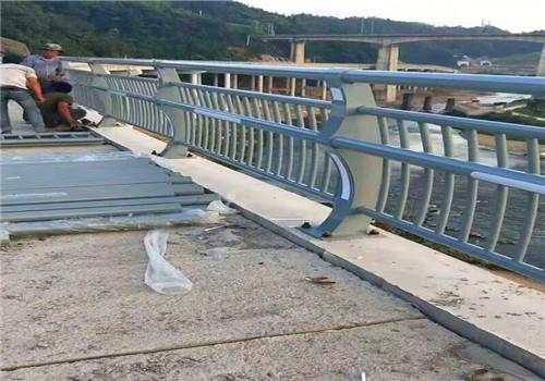 山东临沂桥梁不锈钢景观河道栏价格合理