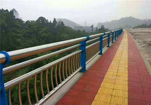 安徽蚌埠不銹鋼橋梁防撞欄桿服務完善