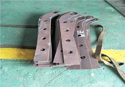 定西Q235钢板立柱厂