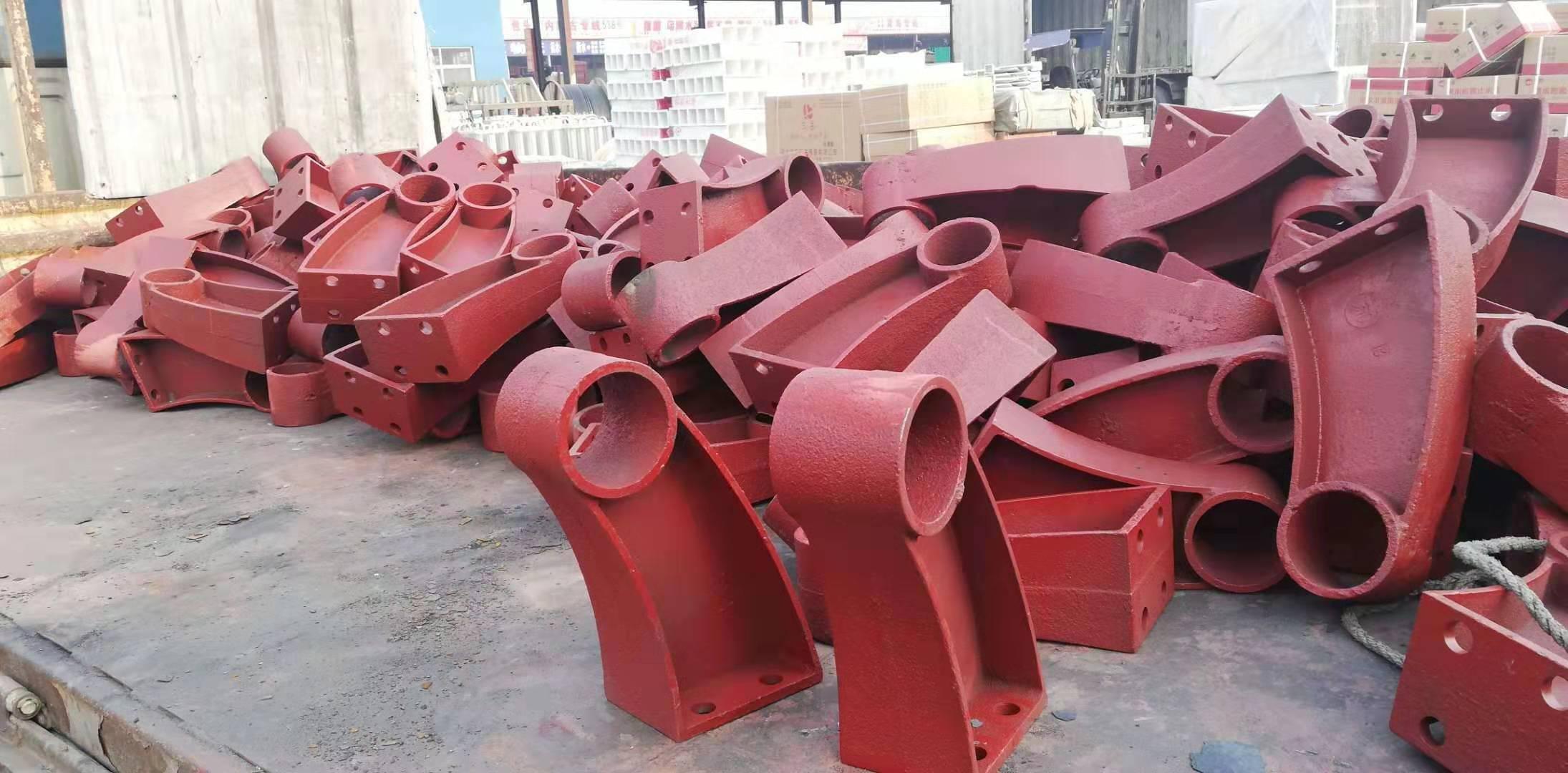 鹤壁防撞护栏支撑架生产厂家
