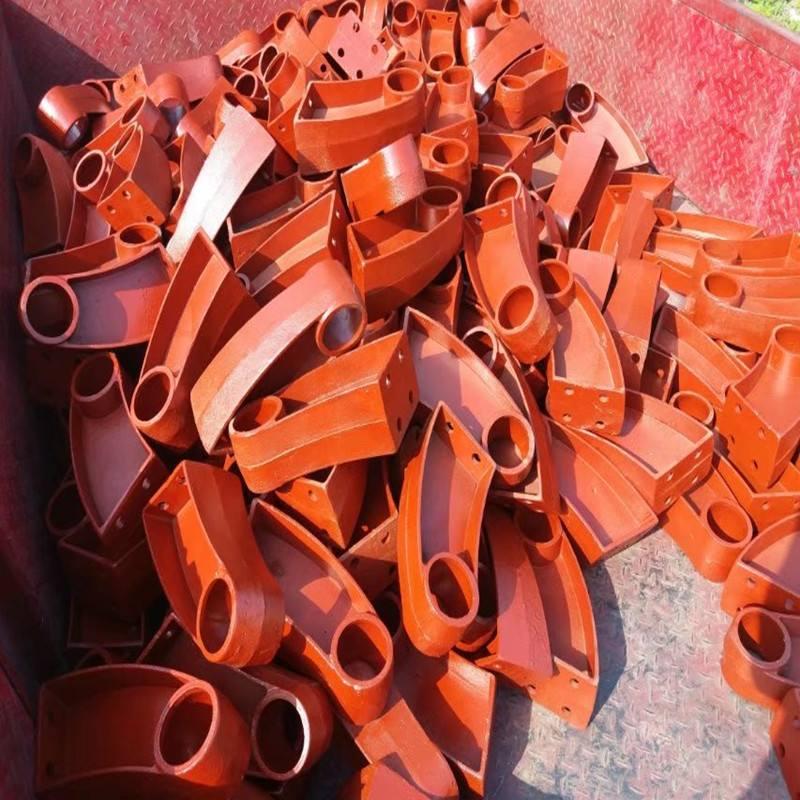 海西铸钢防撞护栏支架厂家