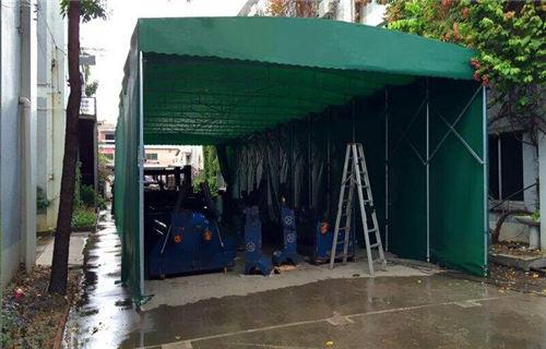 方管帐篷搭建 步骤图