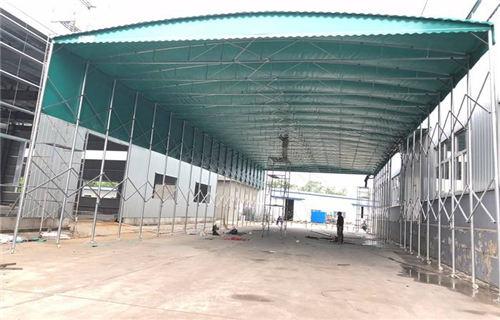 蚌埠推拉式雨棚制造商