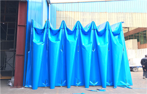 蚌埠倉儲雨棚款式多樣