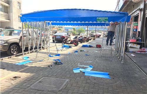 蚌埠大型推拉雨篷廠家聯系