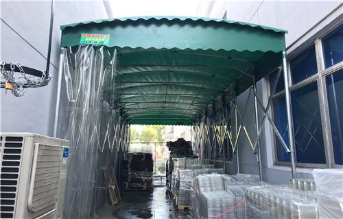 蚌埠大型推拉雨棚廠家制造