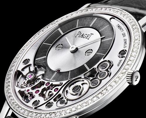白金超薄机械手表   名牌手表伯爵G0A39112