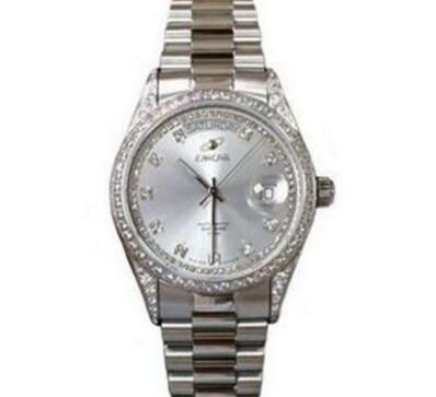 给大家看看我收藏的1979年的瑞士原装全新英纳格手表   玩