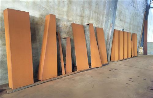 杭州幕墙锈钢板详情