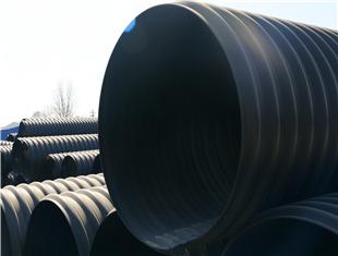镇坪HDPE钢带增强螺旋波纹管