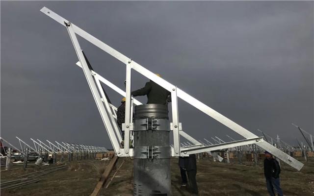 質保25年:安徽蚌埠市鋁合金光伏支架配件