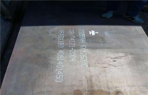 安康Q235NH钢板市场价格