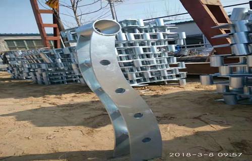 无锡不锈钢碳素钢复合管护栏厂家发货