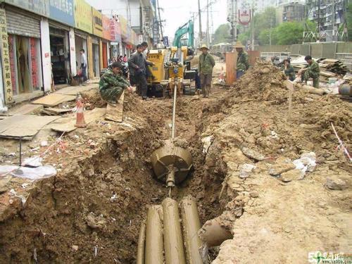北京地下拉管顶管施工