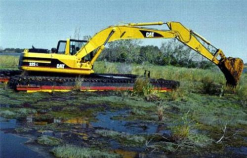 平利浮筒式挖掘机租赁