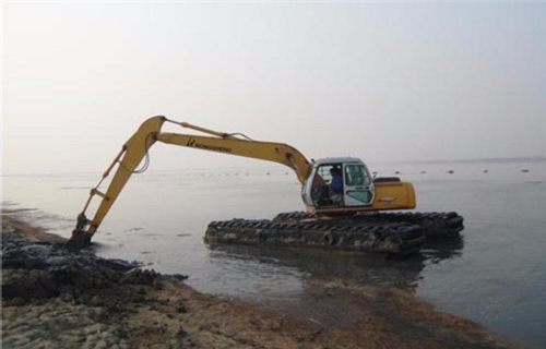 镇坪水上挖掘机出租