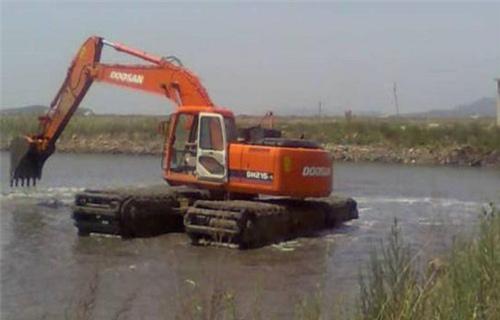 白河水陆两栖挖机销售