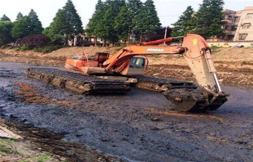汉阴水陆两栖挖机销售