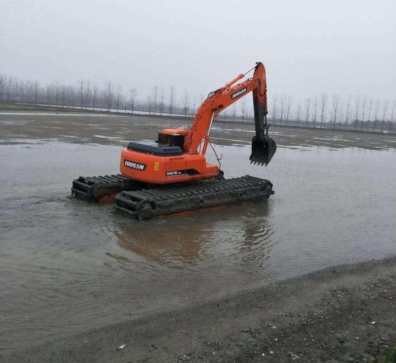 汉阴水上挖掘机租赁