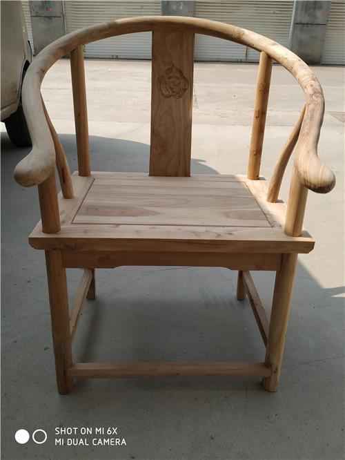 十堰榆木卷书椅子圈椅厂家自己生产