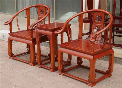 张家口榆木卷书椅子圈椅厂家工厂直营