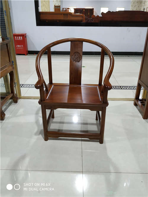 无锡榆木卷书椅子圈椅批发质量好还便宜的