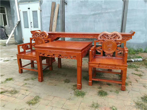 大兴安岭榆木卷书椅子圈椅厂家质量好还便宜的