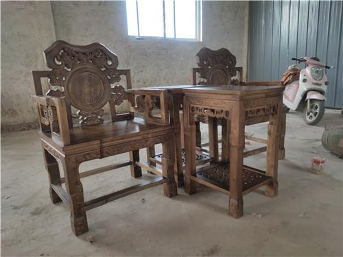 湖南仿古太师椅三件套一件也是批发价格