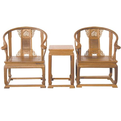 白银榆木卷书椅子圈椅定做厂家送货上门