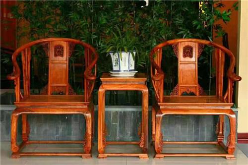 汉中榆木卷书椅子圈椅自己生产