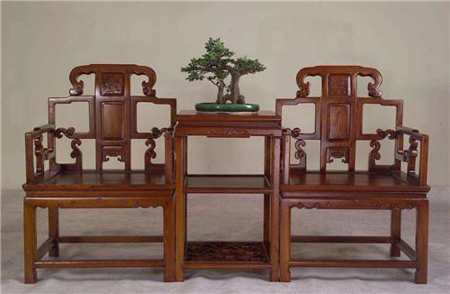鄂州榆木卷书椅子圈椅工厂自己加工