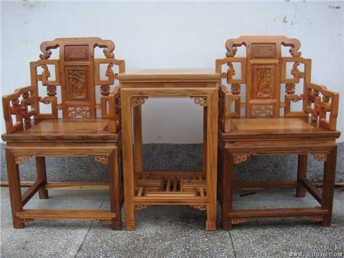 湖南榆木卷书椅子圈椅定做自己生产