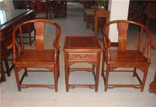 商丘榆木卷书椅子圈椅定做自己生产