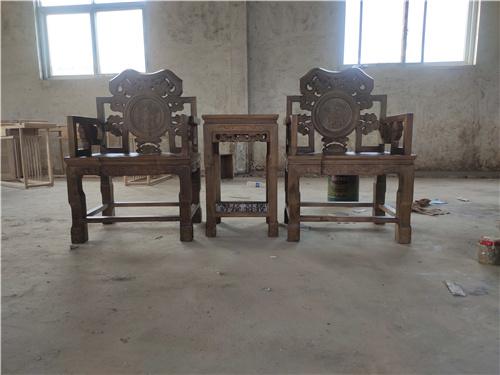 四平中式打坐椅传统工艺