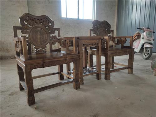 海东中式实木太师椅批发传统工艺