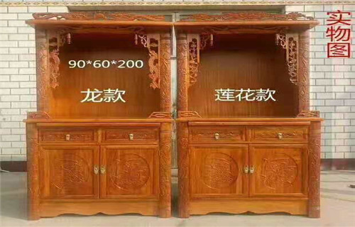 福建中式仿古佛龛榫卯工艺