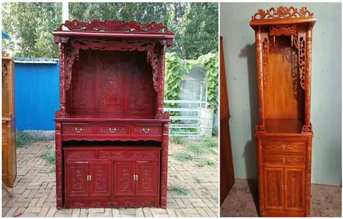 临沂家用实木神龛哪里有定制实木家具的