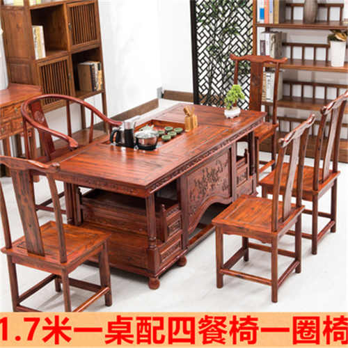 安康榆木茶桌椅组合值得信赖