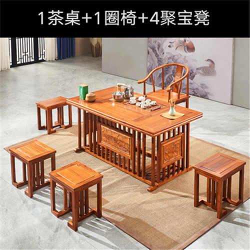 蚌埠功夫茶桌茶藝桌套裝定做選材優質