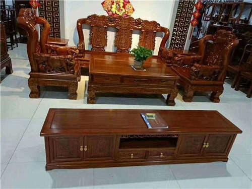 黑龙江北方老榆木罗汉床家装主材环保安心