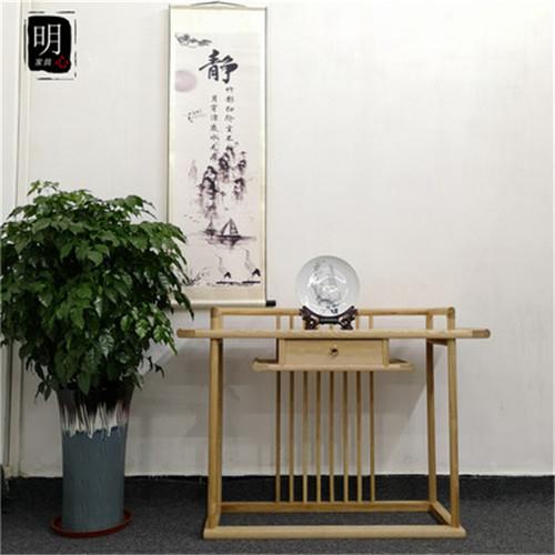 漳州新中式条案红木沙发