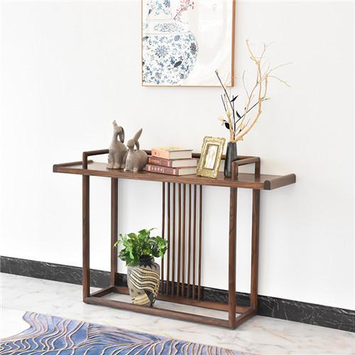 海南中堂贡桌红木沙发