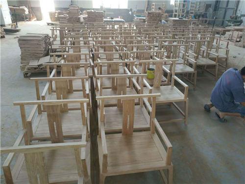 西藏新中式实木官帽椅现代简约风格