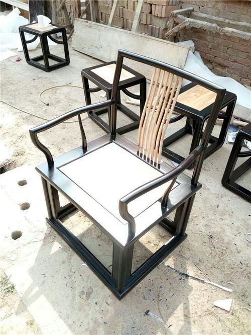 海南新中式实木圈椅厂家批发