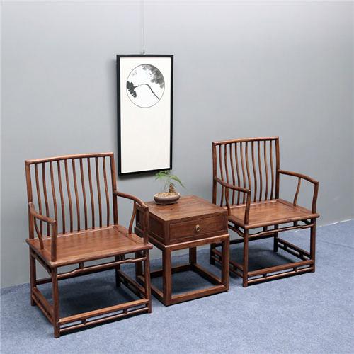海南围椅三件套仿古家具