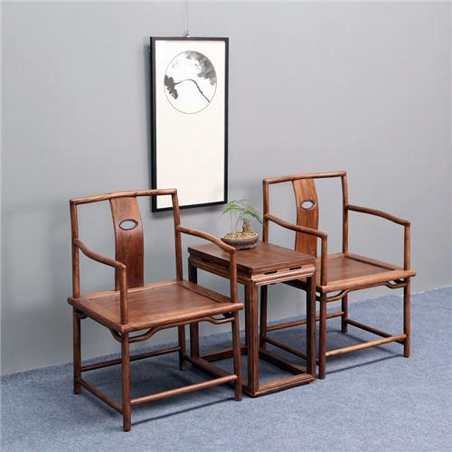 黑龙江明式免漆实木官帽椅圈椅品牌优质之选