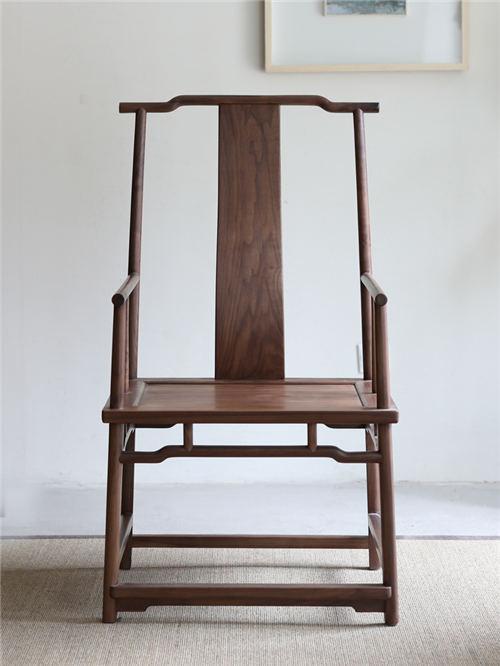 湖南新中式实木官帽椅圈椅产地货源