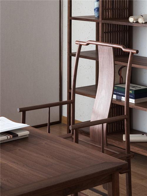 漳州新中式实木官帽椅圈椅设计美观